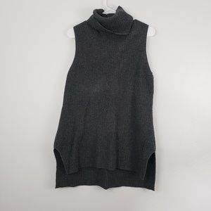 GAP Cowl Neck Chunky Sweater Vest